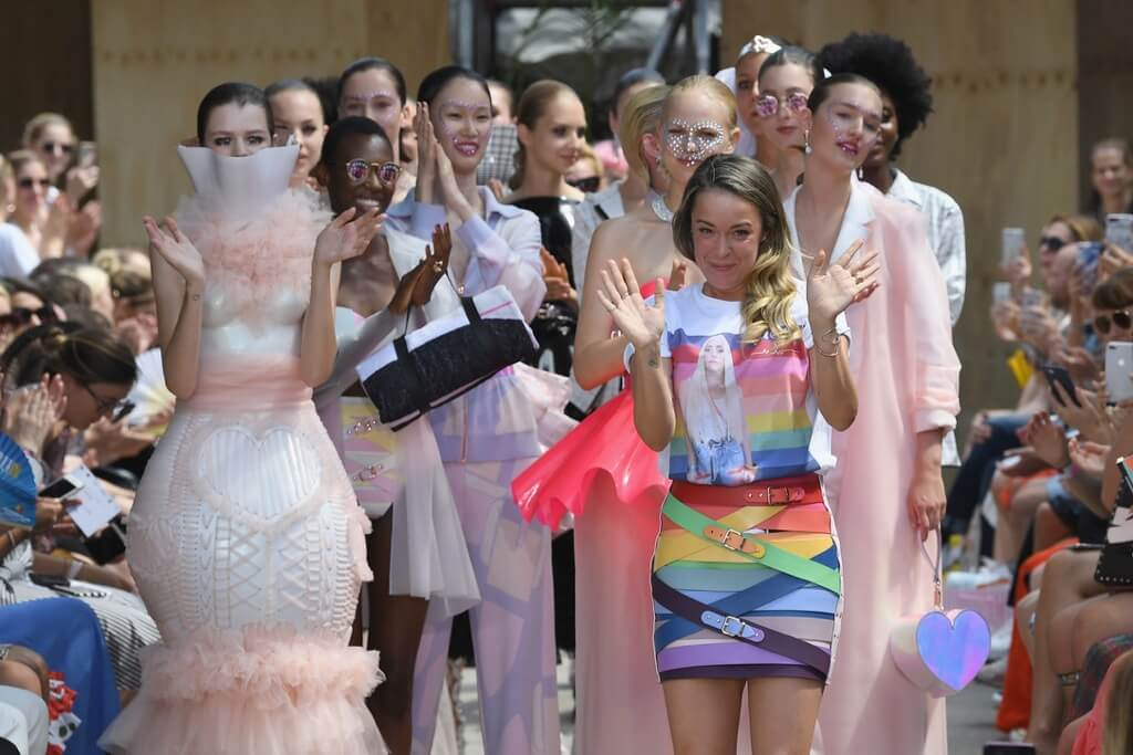 Mercedes-Benz Fashion Week Berlin S/S 19 | MARINA HOERMANSEDER Show | Photo © John Phillips/Getty Images for MBFW