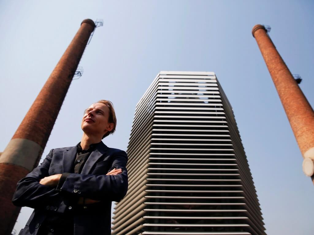 Smog Free Tower Beijing | Photo © Studio Roosegaarde