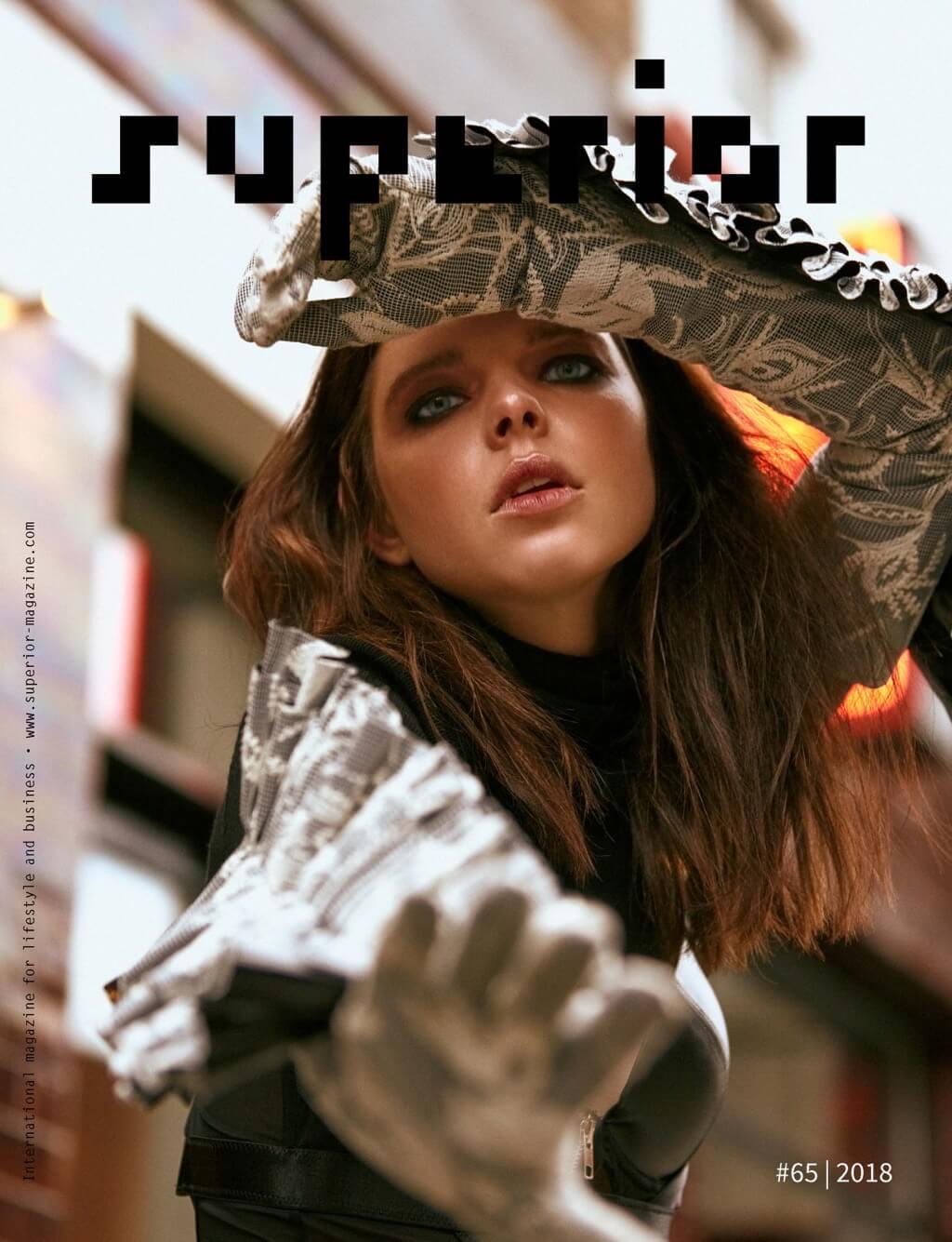 Superior Magazine # 65 | Cover by Arya Shirazi