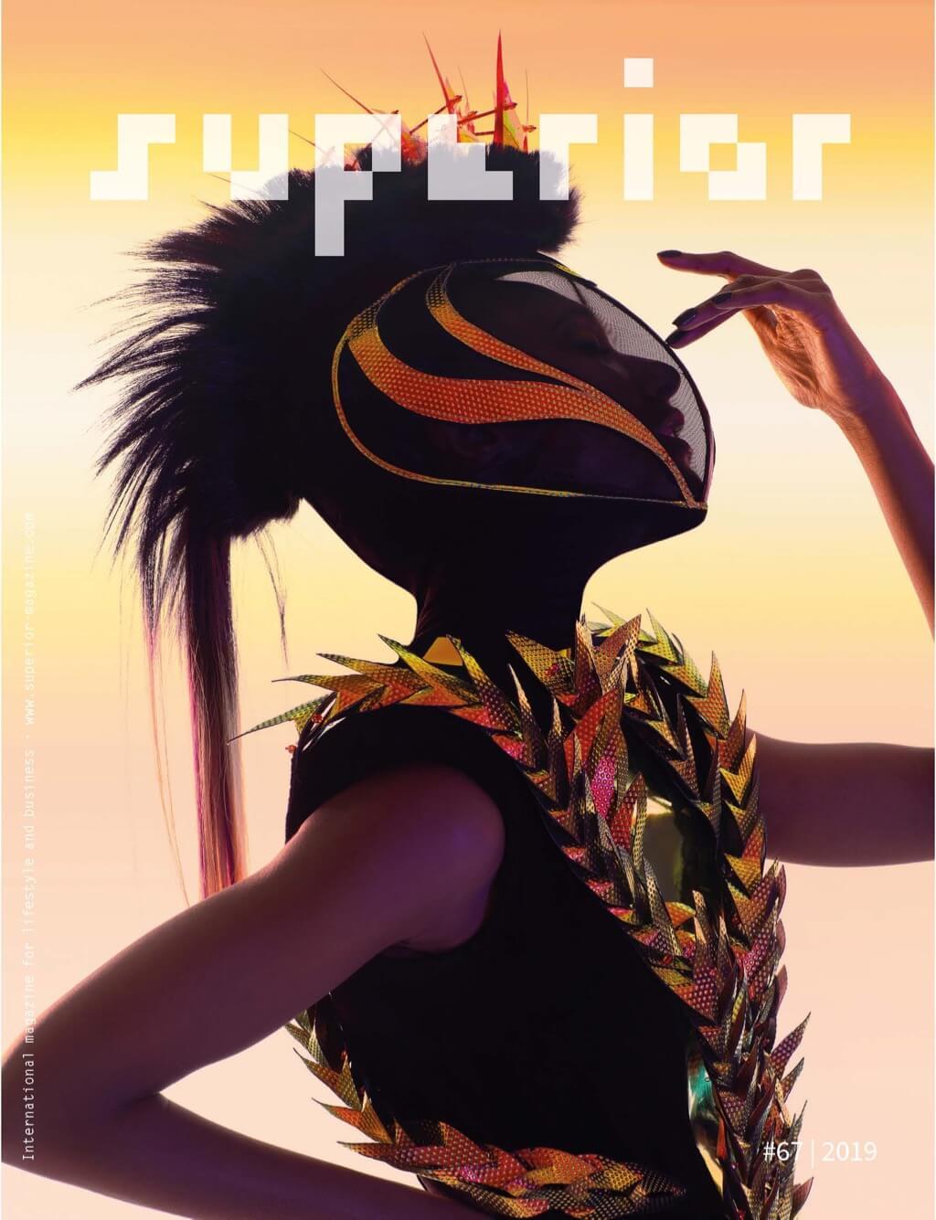 Superior Magazine # 67 - Cover by Jose Espaillat