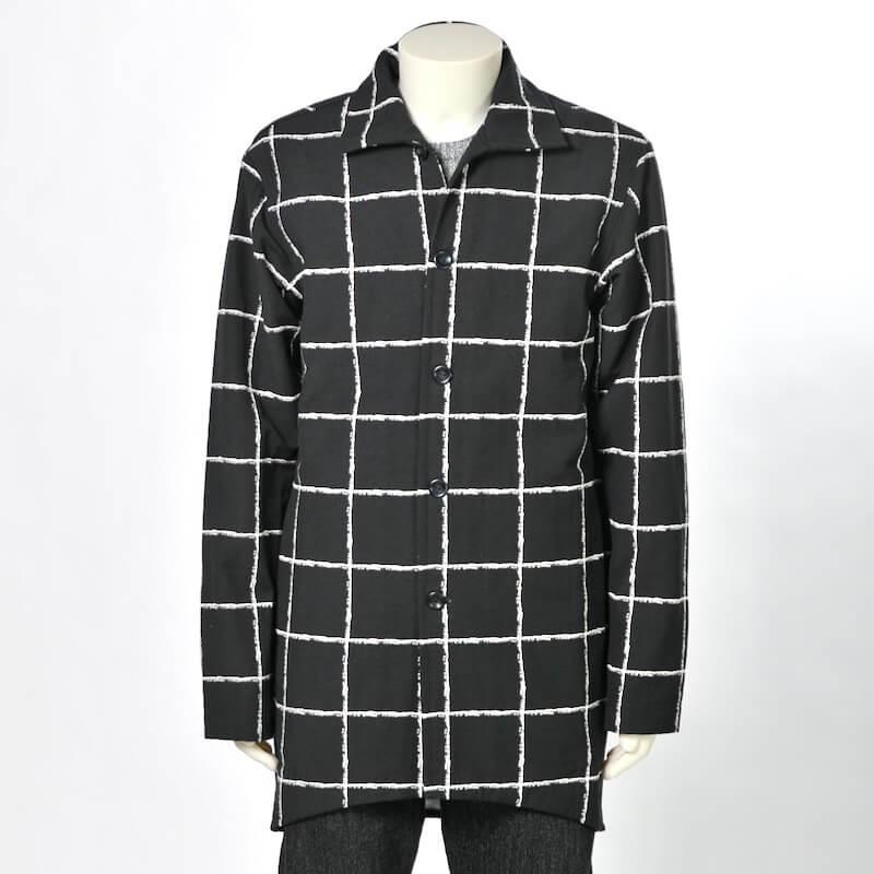 FPPO - Coat EASY GOING Black-White