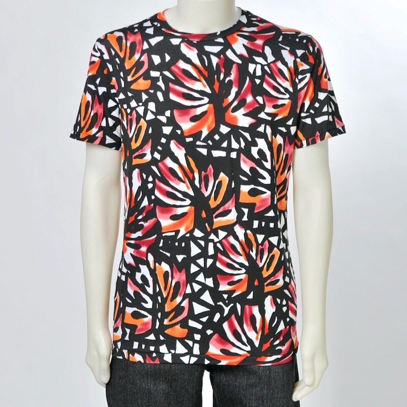 FPPO - T-Shirt TROPICAL LEAVES