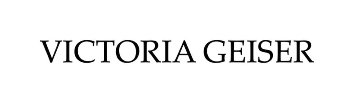 "Editorial title ""Victoria Geiser"""