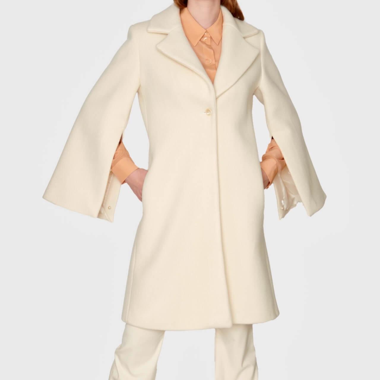 VICTORIA GEISER - Coat KIMONO-CUT Creme - 749 €