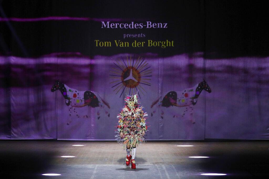 Mercedes-Benz Fashion Week Berlin A/W 21 | TOM VAN DER BORGHT Show | Photo © Sebastian Reuter/Getty Images for MBFW